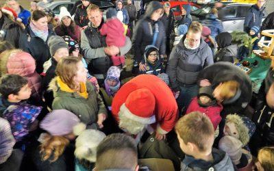 Der Nikolaus kommt am 6. Dezember nach Rieseby