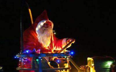 207 Nikolausüberraschungen gepackt: Die wohl umfangreichste Nikolausaktion in Rieseby