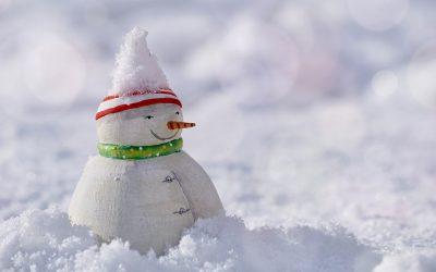 Seeadlerjugend mit Schneemannaktion