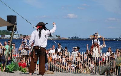 Die Piratentage in Eckernförde waren speziell für die Kinder eine große Freude